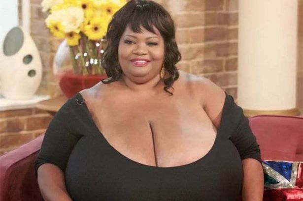 Who has the biggest tits in the world
