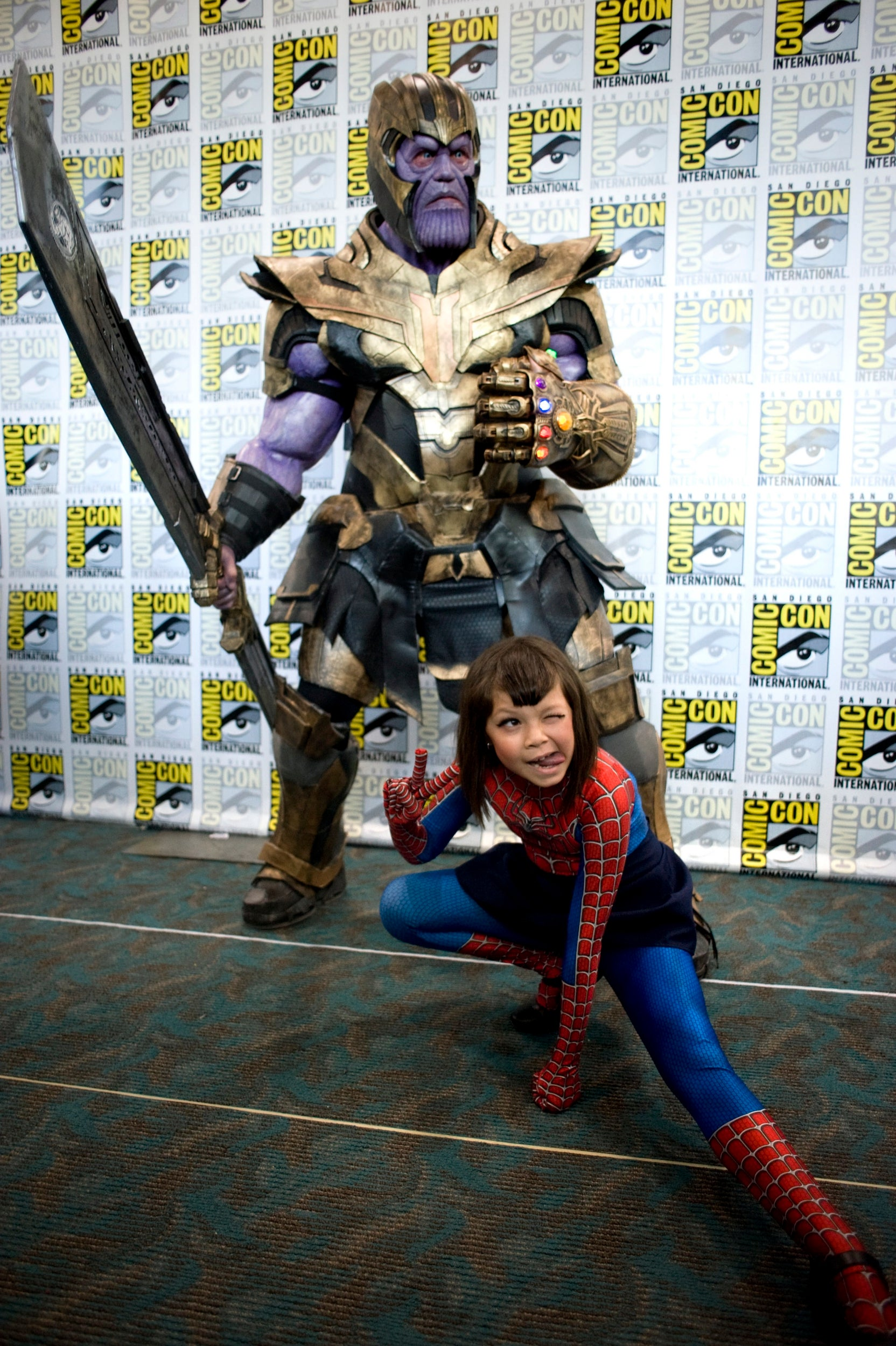 Hot young comic con