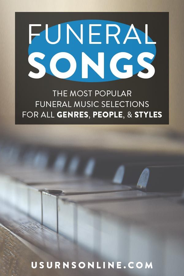 Most popular funeral hymns songs