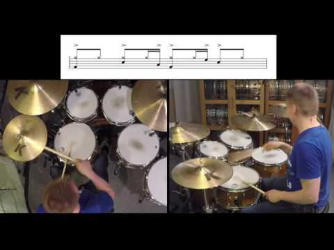 Shake your body drum cover