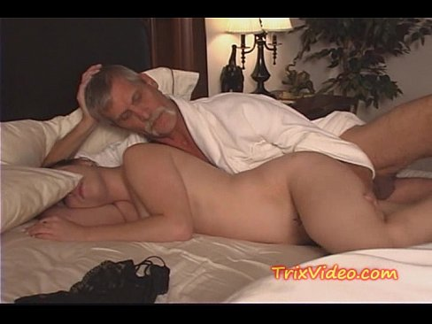 Teen and dad fuck