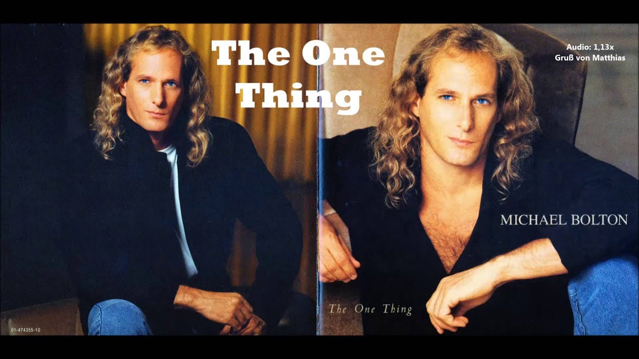 The one thing audio
